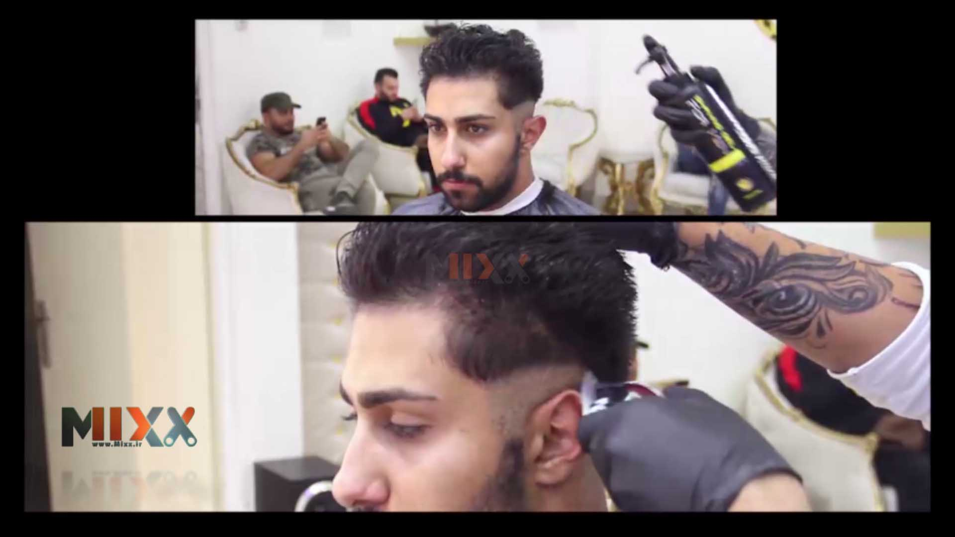 ساخت ویدئوی تبلیغاتی برای آرایشگاه مردانه